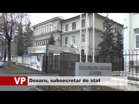 Dosaru, subsecretar de stat