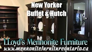 Mennonite New Yorker Buffet and Hutch