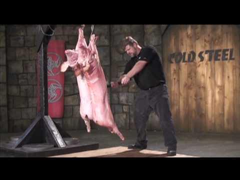 見識下中國古代將軍拿的戰刀有多猛,竟然可以同時斬斷兩頭豬....
