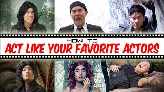 Video How To Act Like Your Favorite Actors MP3, 3GP, MP4, WEBM, AVI, FLV Maret 2019