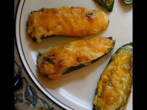 Mexican Recipe: How to Make a Cheese and Bacon Jalapeno Poppers