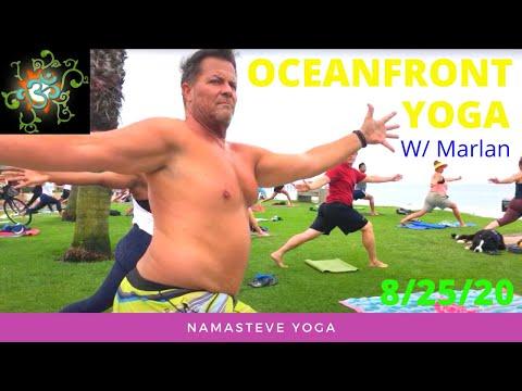 Oceanfront Yoga   Power Yoga   Namasteve Yoga