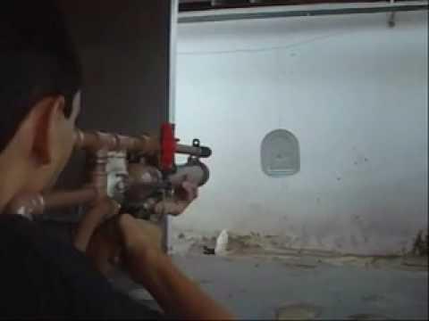 Homemade Airgun PVC