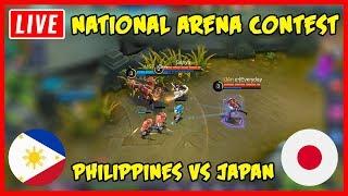 Video Live! Philippines vs Japan National Arena - Mobile Legends MP3, 3GP, MP4, WEBM, AVI, FLV Juni 2019