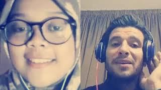 Video Smule Hasbi Santri Merdu duet Pria Arab Tampan Qomarun قمر سيدناالنبي MP3, 3GP, MP4, WEBM, AVI, FLV Juli 2018