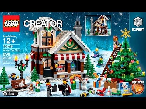 LEGO Exclusive - Karácsonyi játékbolt