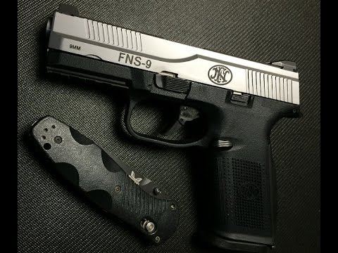 FN FNS-9 Pistol Review Wow!