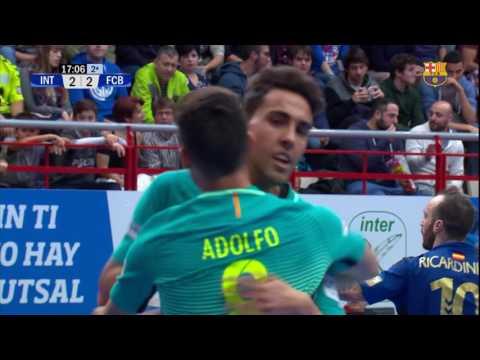 [HIGHLIGHTS] FUTSAL (LNFS): Inter Movistar - FC Barcelona Lassa (3-4)