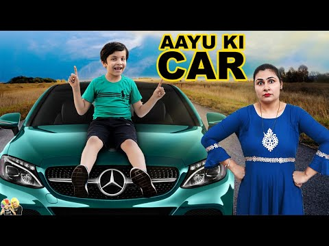 AAYU KI CAR | Moral Story for Kids in Hindi | Aayu and Pihu Show