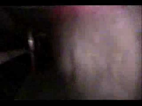 Haunted Asylum in Downey at night w/ GROWLING!