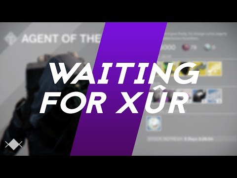 Waiting for Xûr - a Destiny Parody