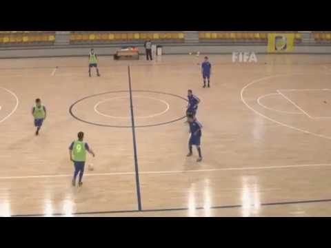 Formasi Futsal Attack 1-2-1