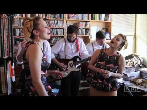tiny desk concert - We brought Lucius to the Tiny Desk because I fell in love with one joyous, catchy song: 
