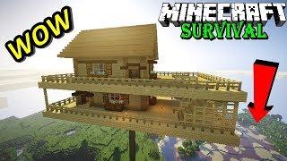 Video WOW ! RUMAHKU TERBANG DI ATAS AWAN - Minecraft Survival #2 MP3, 3GP, MP4, WEBM, AVI, FLV Oktober 2017