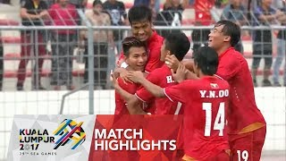Video Football ⚽: Match Highlights Myanmar 🇲🇲 vs Singapore 🇸🇬  | 29th SEA Games 2017 MP3, 3GP, MP4, WEBM, AVI, FLV Juli 2018