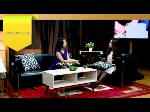 BINUS MEDIA FORUM – Devi Asmarani – Web Magazine Sebagai Media Suara Wanita