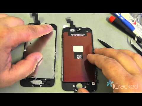replacement - http://www.iCracked.com - iCracked, the world's best iPhone, iPod, and iPad repair & buyback company, shows you how to repair your iPhone 5s with their Offic...