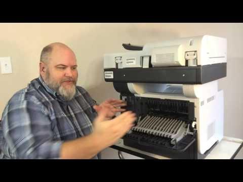 PRINTER REPAIR: How To Do Maintenance On Your HP LaserJet M525C MFP