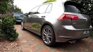 Volkswagen Golf R line, paint protection by Melbourne mobile detailing