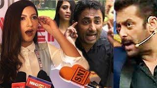 Video Gauhar Khan STRONG REACTION Salman Khan, Zubair Khan BIG FIGHT MP3, 3GP, MP4, WEBM, AVI, FLV Oktober 2017