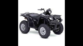 9. Suzuki Vinson LT-A500F (2002-2007) - Workshop, Service, Repair Manual