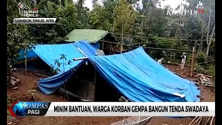 Video Korban Gempa di Lombok Bangun Tenda Swadaya MP3, 3GP, MP4, WEBM, AVI, FLV Maret 2019