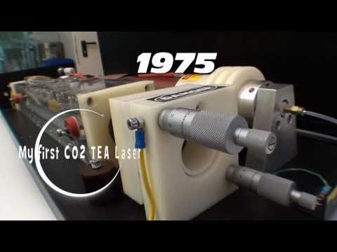 CO2TEA laser  1975.avi