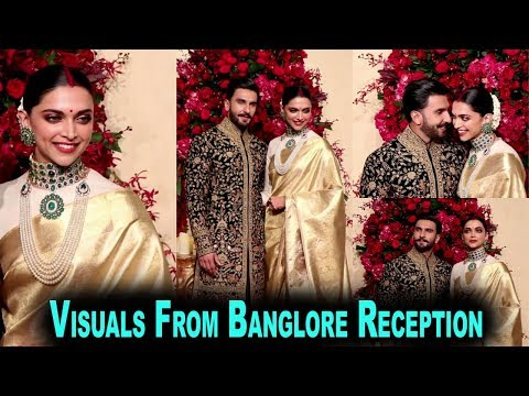 Deepika & Ranveer (Deepveer) Visuals From Banglore Reception | Bollywoodhelpline |