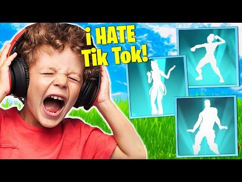 Trolling ANGRY Kid With EVERY TikTok Emote!