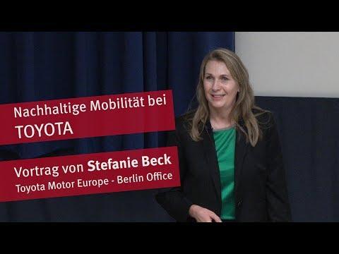 Vortrag:  Nachhaltige Mobilität bei Toyota