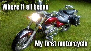 7. My First Motorcycle - Hyosung GV 250 - Remixed