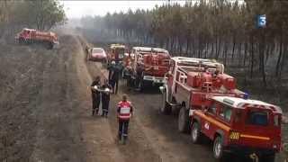 Saint-Jean-d'Illac France  city pictures gallery : Pres de 100 ha de pins devastes par un incendie a St Jean D Illac