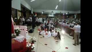 Coroação de Jesus na solenidade do seu Sagrado Coração Santa Fé -PR