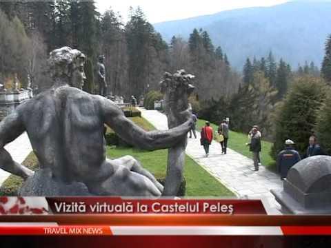 Vizita virtuala la Castelul Peles