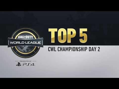 PlayStation's Top 5 Plays | CWL Champs 2018 Day 2