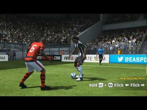 xbox360 - Learn how to do the new skills in FIFA 13! This video includes all the new Skill Moves, 2 new Flair Passes, 1 new Acrobatic Shot and some Examples of the new...