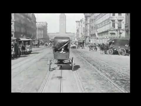 Lovaskocsik, villamosok, automobilok: csúcsforgalom 1906-ban