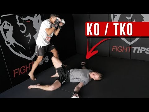 What You NEED to Know when Finishing a Fight (TKO/KO)! (видео)