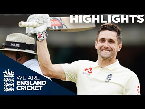 Chris Woakes Hits Maiden Test Century  England v India 2nd Test Day 3 2018 - Highlights