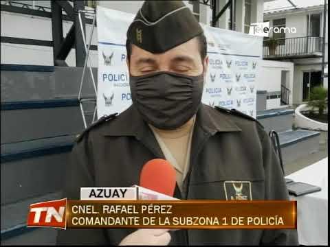 Policía detiene a presunto autor de asesinato en Gualaceo