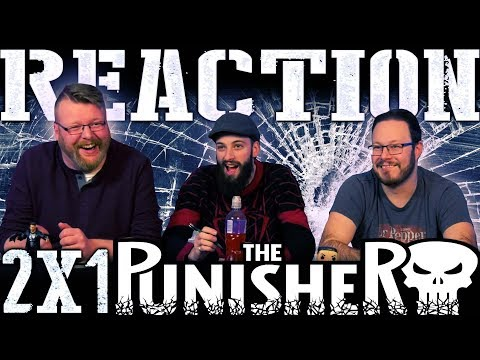 """The Punisher 2x1 REACTION!! """"Roadhouse Blues"""""""