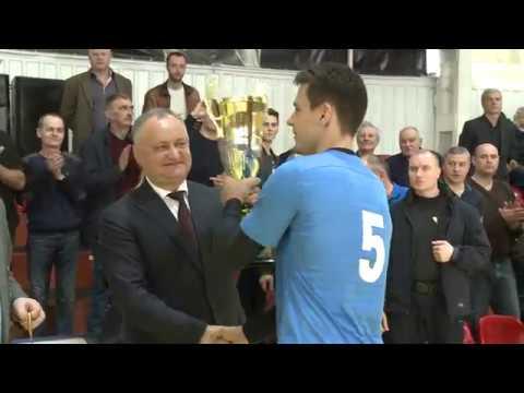 Sub patronajul Președintelui Republicii Moldova, a avut loc Super-Cupa Republicii Moldova la volei