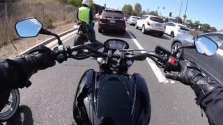 3. Honda CTX700N test ride