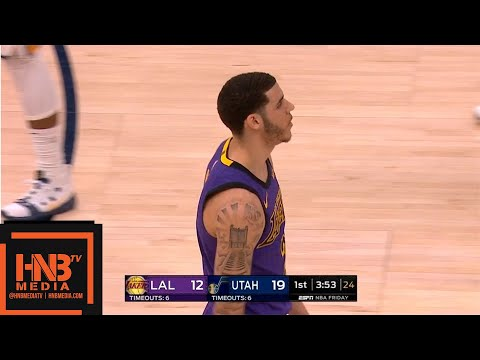Los Angeles Lakers vs Utah Jazz 1st Qtr Highlights   01/11/2019 NBA Season