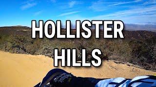 4. Exploring Hollister Hills OHV Area - Yamaha TTR230