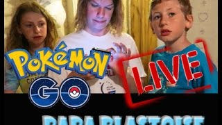 Pokemon Go is LIVE in the USA! Papa Blastoise and Fam are starting the Journey ! by Papa Blastoise