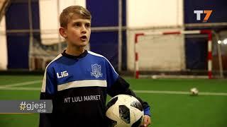 Gentrit Zeneli, talenti i futbollit nga Kaçaniku