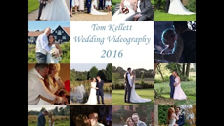 A week to go until my 1st wedding of 2017. This video is a summary of 2016, here's to a busy and