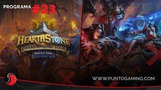 PuntoGaming TV S06E23: HCT en Buenos Aires, torneos, anuncios exclusivos y más