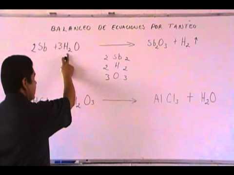 Balanceo de ecuaciones por tanteo JCNA.wmv